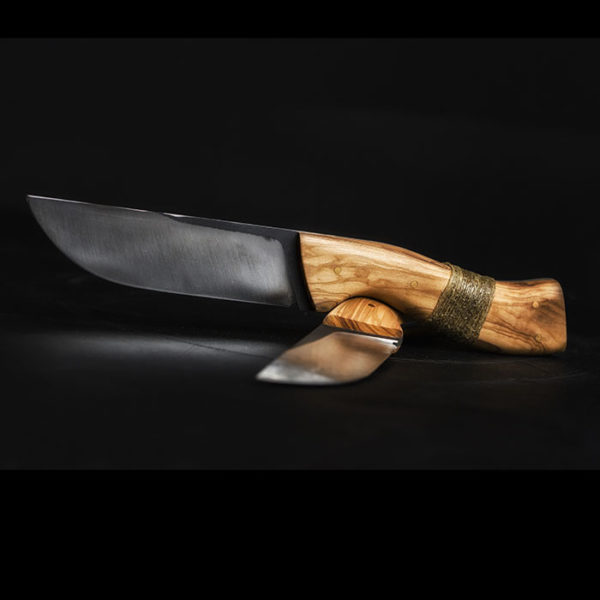 Bushcraft knife Ljubomir Stanisic Telmo Roque